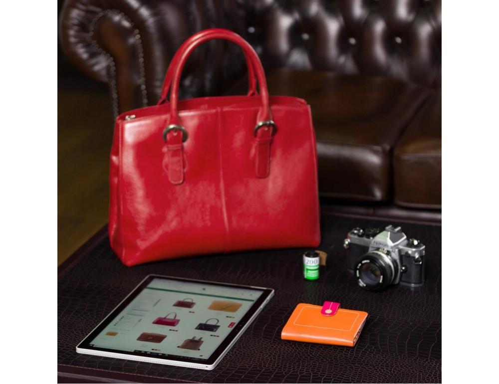 Оранжевый женский кошелёк маленького размера Visconti M77 ORG M Mojito (Orange Multi) - Фото № 5