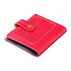 Красный маленький кошелёк для женщин Visconti M77 RED M Mojito (Red Multi)