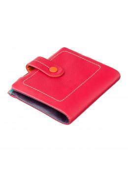 Червоний маленький гаманець для жінок Visconti M77 RED M Mojito (Red Multi)