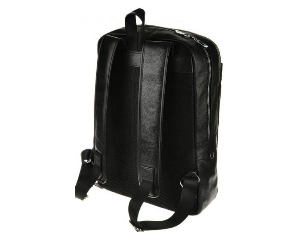 Мужской кожаный рюкзак Tiding Bag M7805A черный - Фото № 2
