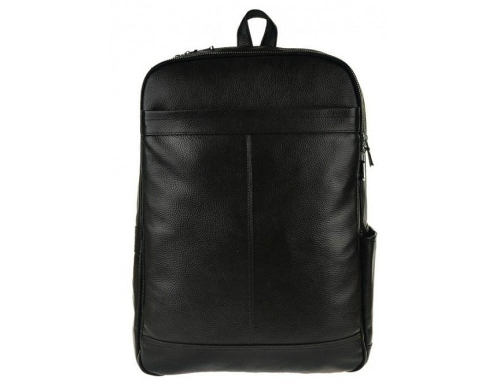 Мужской кожаный рюкзак Tiding Bag M7805A черный - Фото № 3