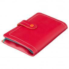 Красный женский кошелёк из натуральной кожи Visconti M87 RED M Malabu (Red Multi)
