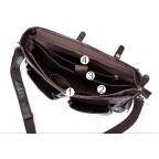 Коричневый кожаный портфель Vintage M8942C - Фото № 103