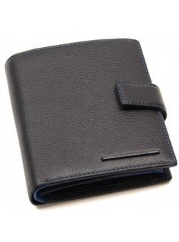 Чёрный кожаный портмоне Marco Coverna mc-1005