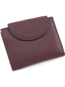 Ежевичный кожаный кошелёк женский Marco Coverna MC-2036-8