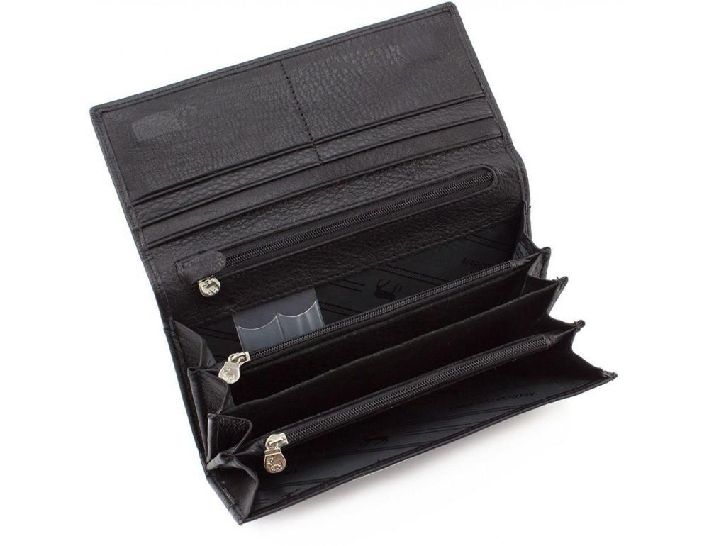 Жіночий шкіряний гаманець MARCO COVERNA mc1413-1 чорний - Фотографія № 2