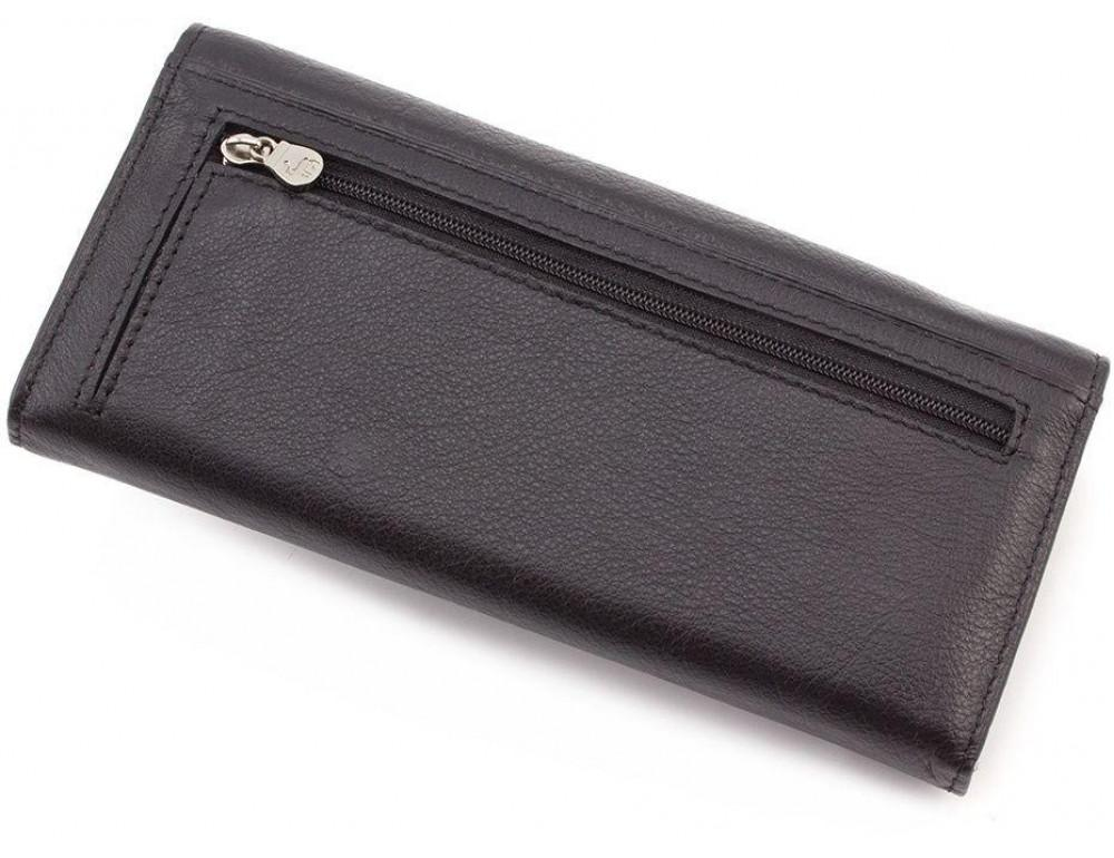 Жіночий шкіряний гаманець MARCO COVERNA mc1413-1 чорний - Фотографія № 4