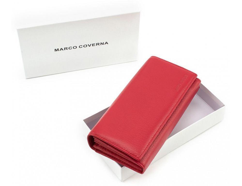 Женский кожаный кошелек MARCO COVERNA mc1413-2 - Фото № 6