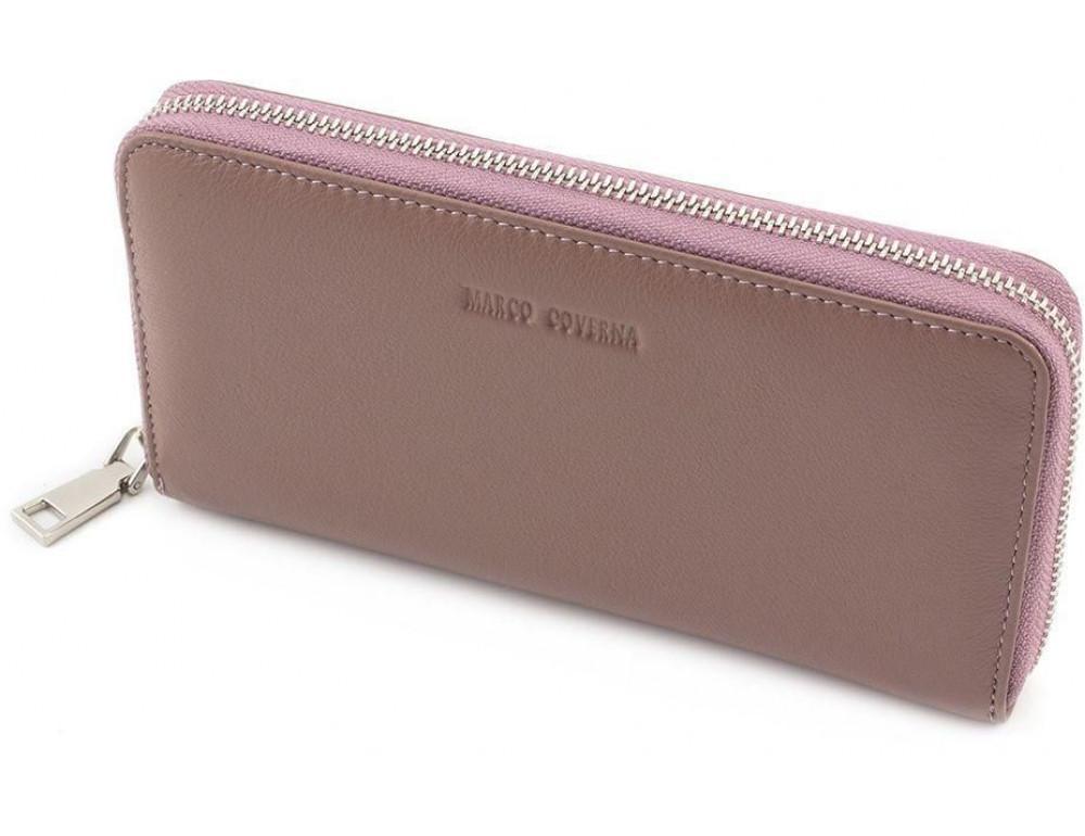 Пудровый кожаный кошелёк женский Marco Coverna mc7003-6 - Фото № 3