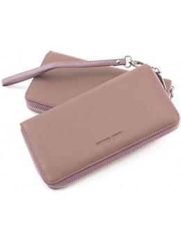 Пудровый кожаный кошелёк женский Marco Coverna mc7003-6