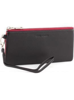Тонкий женский кожаный кошелёк на молнии Marco Coverna MC88806-1
