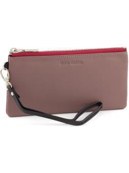 Пудровый тонкий кошелёк для девушки Marco Coverna MC88806-6