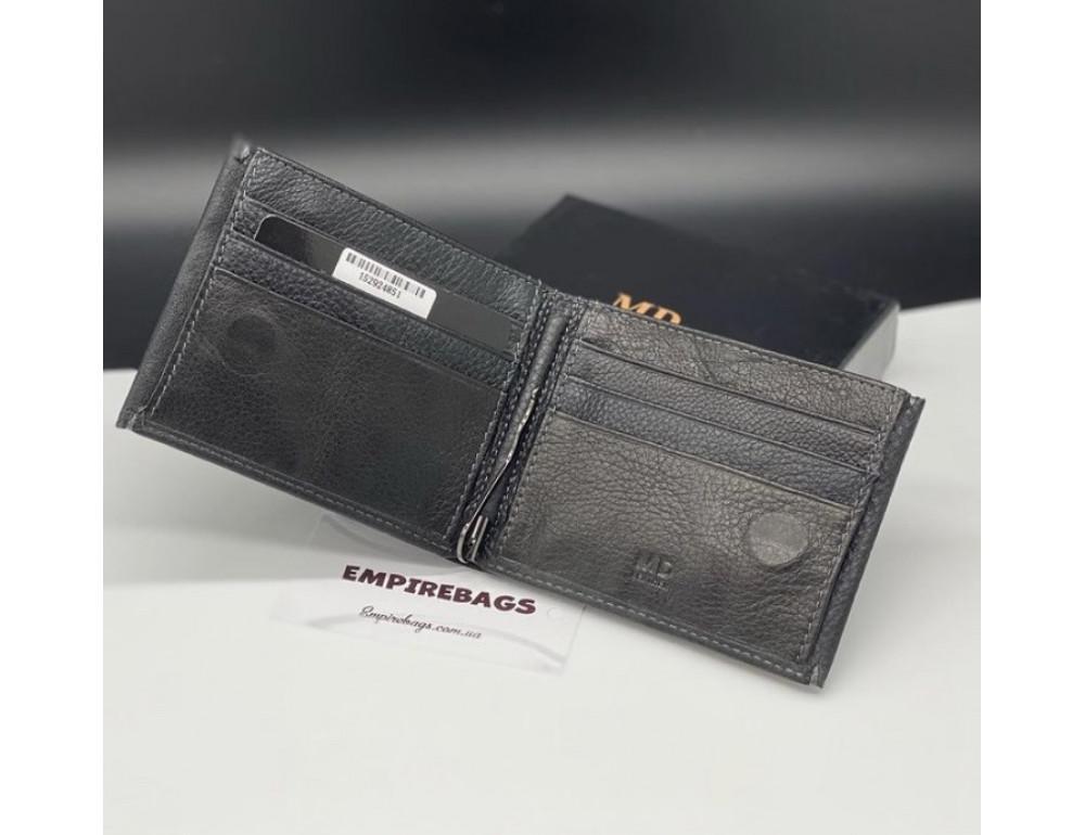 Мужской кожаный кошелёк с зажимом для денег MD Leather md23-555 - Фото № 2