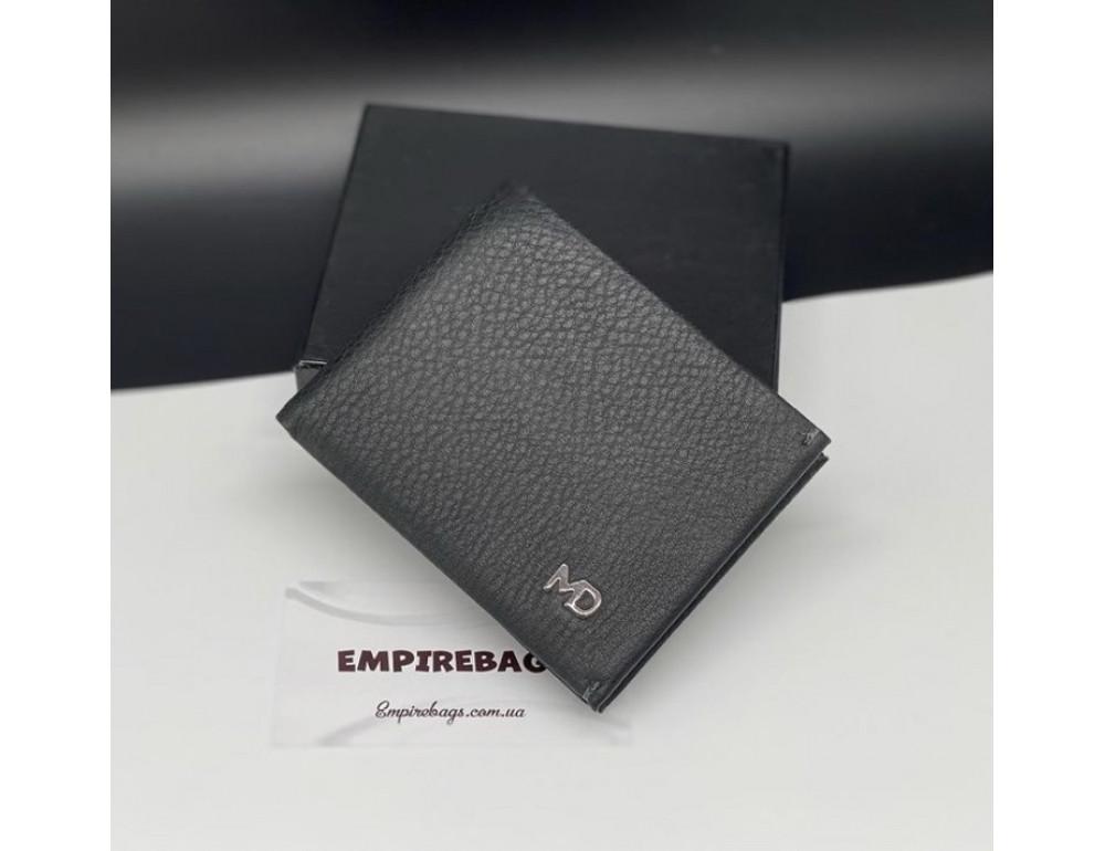 Мужской кожаный кошелёк с зажимом для денег MD Leather md23-555 - Фото № 1