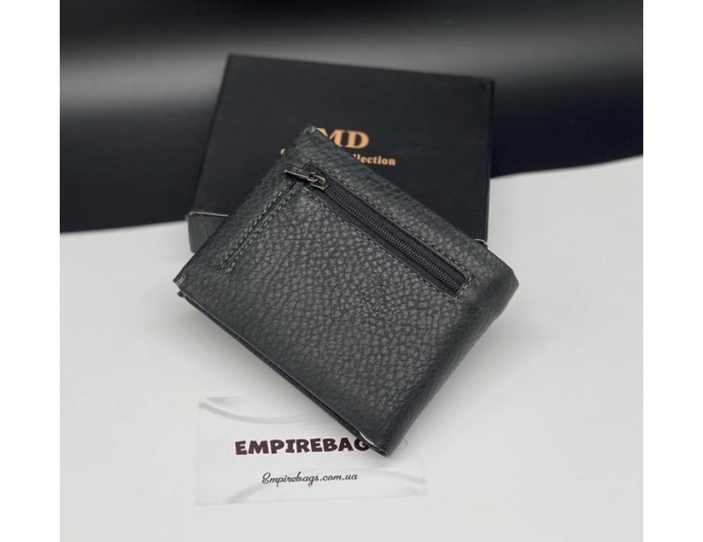 Мужской кожаный кошелёк с зажимом для денег MD Leather md23-555 - Фото № 5