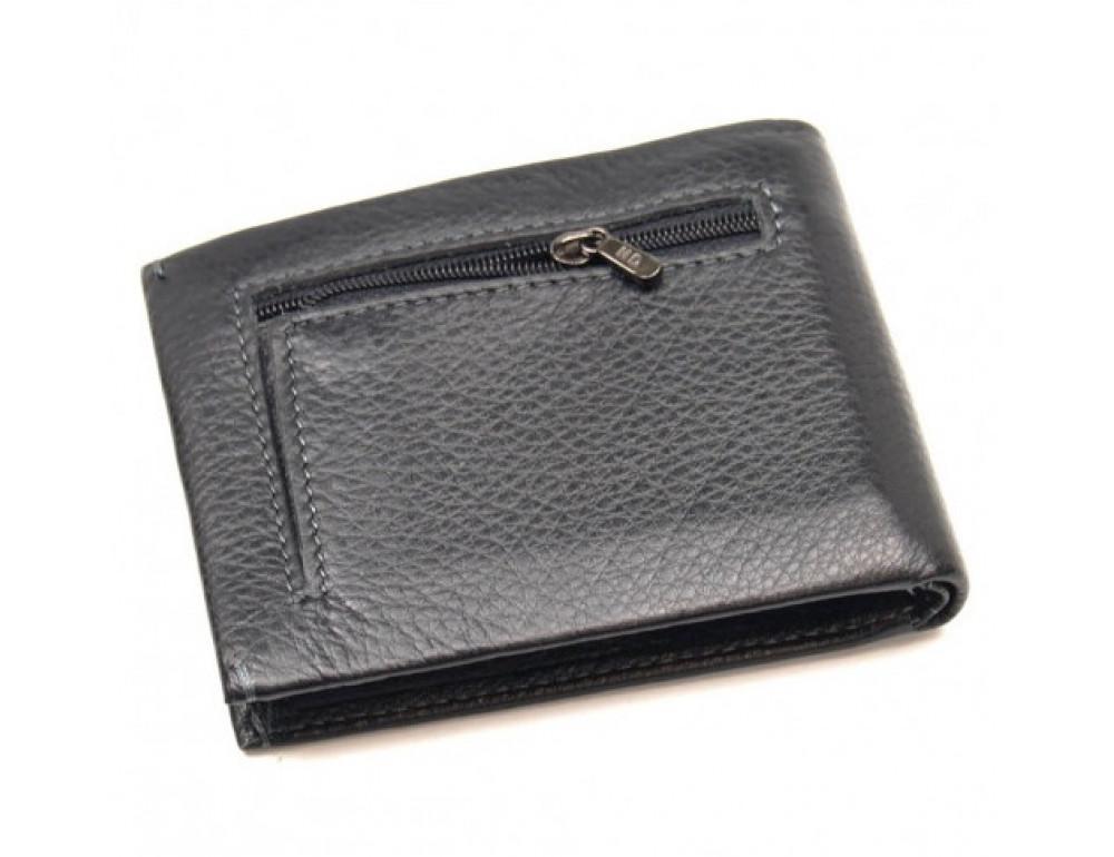 Чёрный кожаный зажим-портмоне MD Leather MD 555-10А - Фото № 2