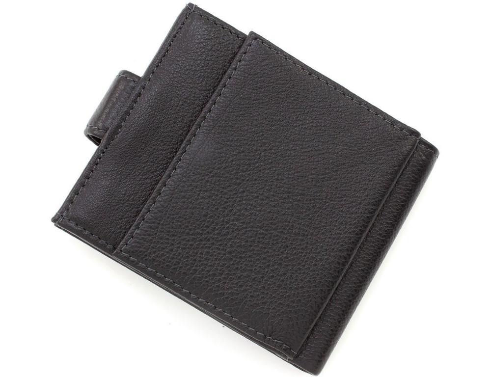 Чёрный мужской кошелёк на защелке MD Leather MD 122-A - Фото № 4