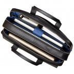 Чёрный кожаный портфель для мужчин Visconti ML24 BLK - Фото № 101