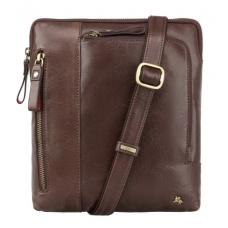 Коричнева сумка через плече Visconti ML20 Roy (brown)