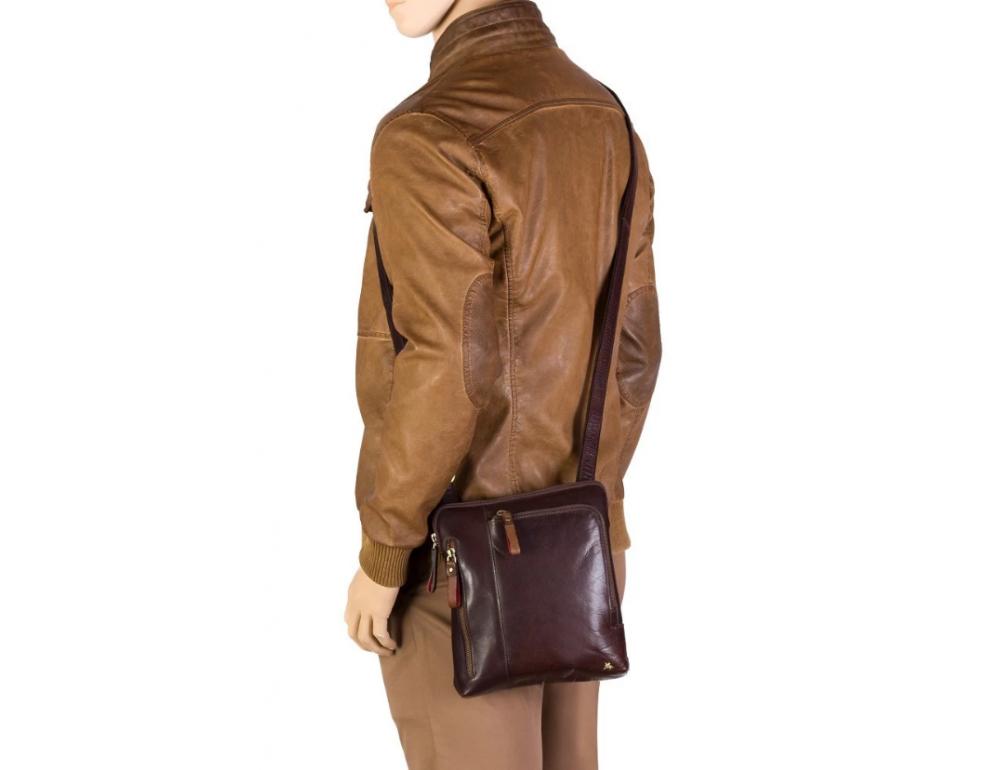 Светло-коричневая сумка через плечо Visconti ML20 TAN Roy (tan) - Фото № 2