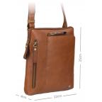 Светло-коричневая сумка через плечо Visconti ML20 TAN Roy (tan) - Фото № 102