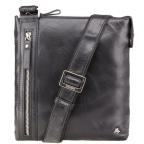 Чёрная сумка через плечо Visconti ML25 BLK Taylor (Black) - Фото № 100