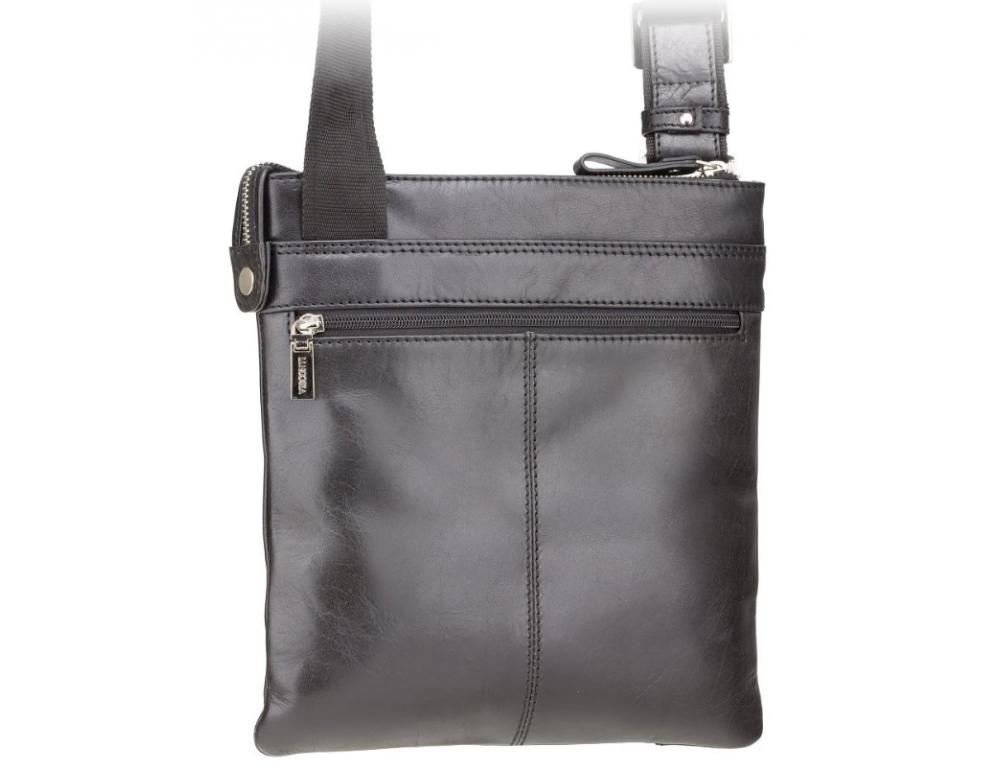 Чёрная сумка через плечо Visconti ML25 BLK Taylor (Black) - Фото № 2