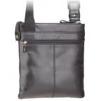 Чёрная сумка через плечо Visconti ML25 BLK Taylor (Black) - Фото № 101