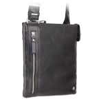 Чёрная сумка через плечо Visconti ML25 BLK Taylor (Black) - Фото № 102