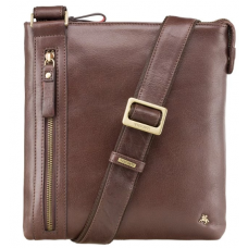 Коричневая сумка через плечо Visconti ML25 BRN Taylor (brown)