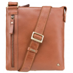 Коричневая сумка через плечо Visconti ML25 TAN Taylor (brown) - Фото № 100