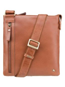 Светло-коричневая сумка через плечо Visconti ML25 TAN Taylor (brown)