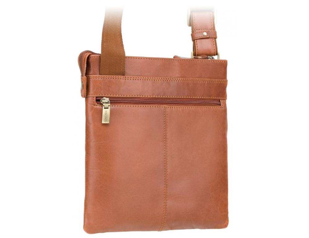 Коричневая сумка через плечо Visconti ML25 TAN Taylor (brown) - Фото № 2