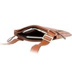 Коричневая сумка через плечо Visconti ML25 TAN Taylor (brown) - Фото № 102