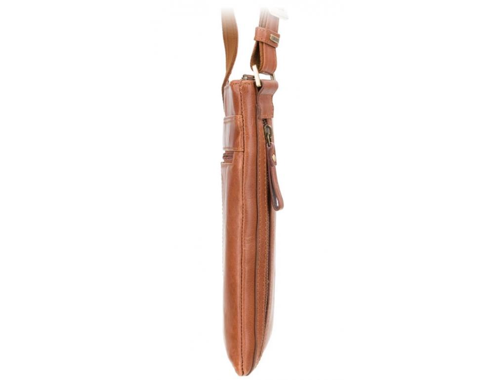Коричневая сумка через плечо Visconti ML25 TAN Taylor (brown) - Фото № 4