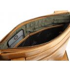 Коричневая сумка через плечо Visconti ML25 TAN Taylor (brown) - Фото № 106