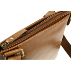 Коричневая сумка через плечо Visconti ML25 TAN Taylor (brown) - Фото № 107