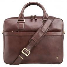 Коричневая сумка мужская Visconti ML34 BRN Victor
