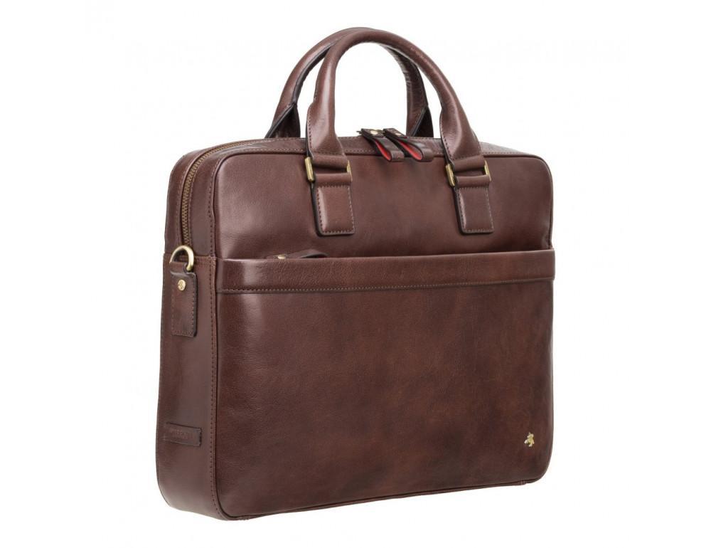 Коричневая сумка мужская Visconti ML34 BRN Victor - Фото № 2