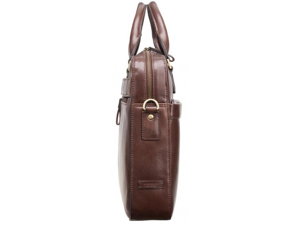 Коричневая сумка мужская Visconti ML34 BRN Victor - Фото № 3