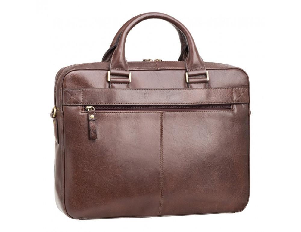 Коричневая сумка мужская Visconti ML34 BRN Victor - Фото № 4