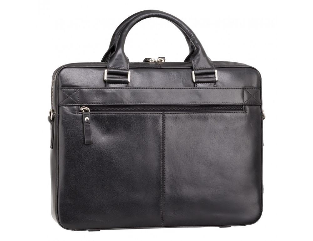 Чёрная сумка мужская Visconti ML34 BLK Victor - Фото № 4