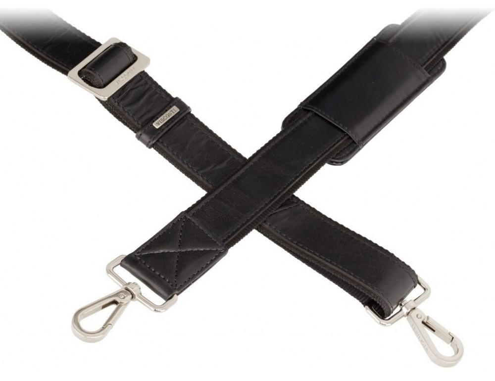 Чёрная сумка мужская Visconti ML34 BLK Victor - Фото № 5