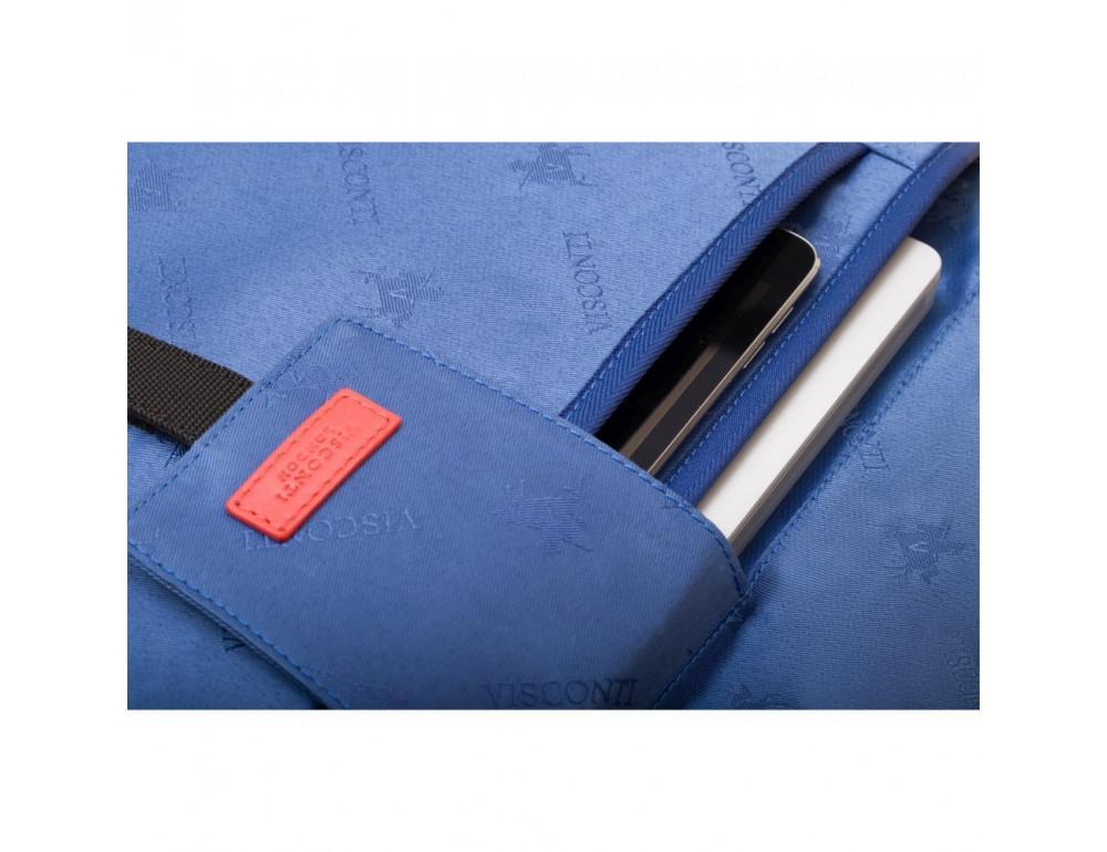 Чёрная сумка мужская Visconti ML34 BLK Victor - Фото № 8