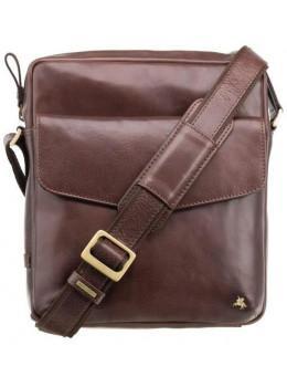 Коричнева чоловіча сумка на плече Visconti ML36 BRN - Vesper A5