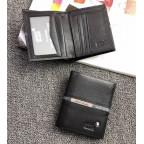 Черный вертикальный портмоне Montblanc MO-114565 - Фото № 101