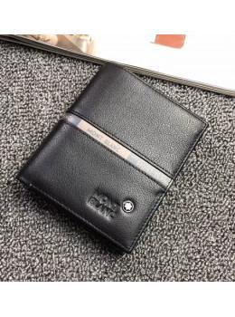 Черный вертикальный портмоне Montblanc MO-114565