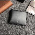 Чёрный кожаный портмоне Montblanc Meisters MO-20144 - Фото № 102