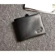 Чорний шкіряний портмоне Montblanc MO-30144