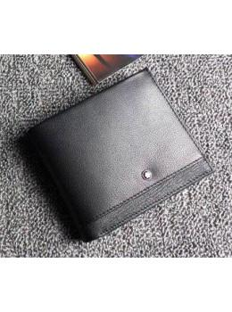 Чёрный кожаный портмоне Montblanc MO-6690-3